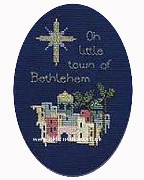 Bethlehem Christmas Card Cross Stitch Kit